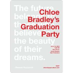 Graduation Quote Invitations: Health & Personal Care