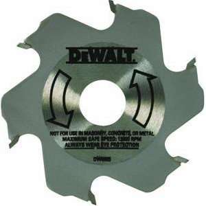 DW6805 4 Inch 6 Tooth Carbide Plate Joiner Blade: Home Improvement
