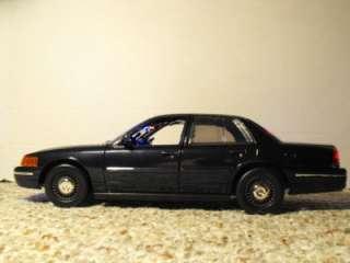 18 Undercover Dark Blue Police Car Lights Custom FCV Slicktop