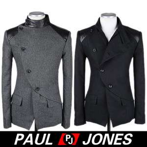 2381 Mens Fashion 2011NEW Style,Sexy Premium Coats&Jacket Side Buttons