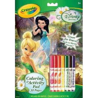 Crayola Disney Fairies Coloring and Activity Book with Markers