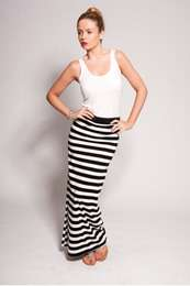 and Ratings   Clearance   Asha Striped jersey maxi skirt