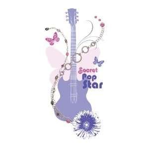 allen + roth 16 3/4W x 36 3/4H Purple Hannah Montana Giant Sticker