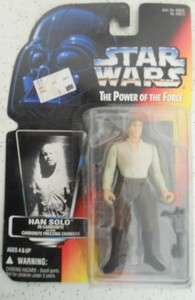 1995 Kenner Star Wars Power of the Force Han Solo 076281696133