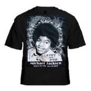 Michael Jackson King of Pop 2XL T shirt
