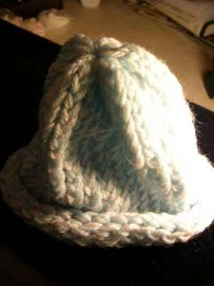 HAND CROCHETED BABY HATS   VARIOUS COLORS