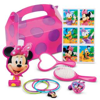 Minnie Mouse Birthday Party Favor Box Kits