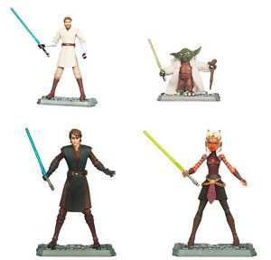 Hasbro Star Wars Clone Wars 2011 Wave 7 Actionfiguren