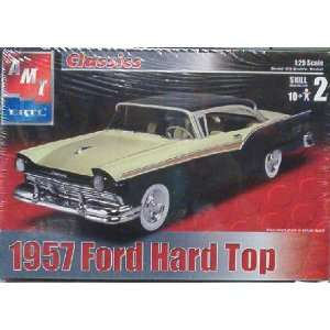 1957 Ford Hard Top by AMT Scale 125 Toys & Games