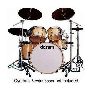 ddrum Dominion maple series DM22 5 Piece drum kit, Black