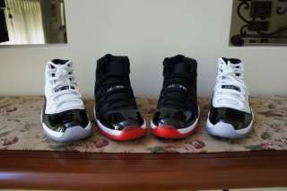 Nike Air Jordan Retro XI Bred and Concords