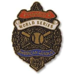 2 Patch Pack   1927 New York Yankees World Series MLB Logo