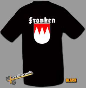 Top T Shirt Franken cult Frankenwappen Club 1FCN