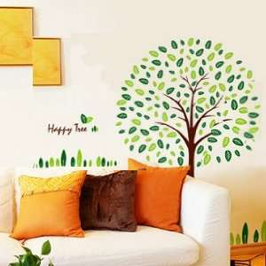 Wall Decor Removable Decal Sticker   Happy Tree Baby