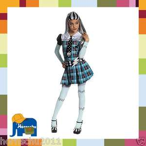 Rubies Kinder Kostüm Monster High Frankie Stein Karneval 116/128, 140