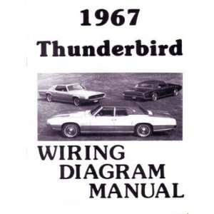 1967 FORD THUNDERBIRD T BIRD Wiring Diagrams Schematics