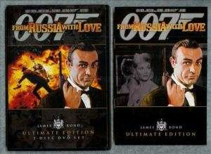 From Russia With Love James Bond 007 Ultimate Ed DVD