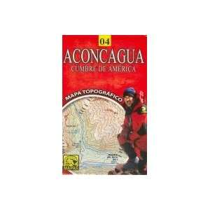 Aconcagua, Summit of America (Cumbre De America) Map