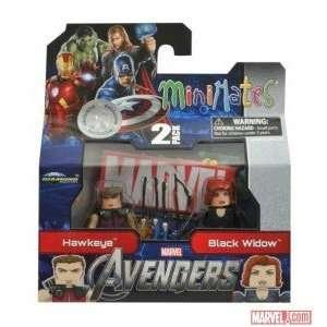 Marvel MiniMates Avengers Movie Exclusive Mini Figure 2Pack Hawkeye