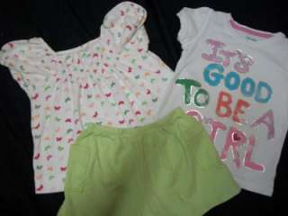 HUGE LOT TODDLER GIRLS 18 MONTH 18 24 MONTH 2T SUMMER CLOTHES LOT ALL