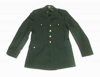 Vintage United States ARMY DRESS Green JACKET 42L