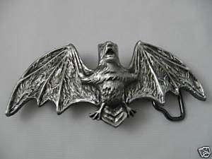 Bat Belt Buckle, Vampire Bat, Punk, Goth, New
