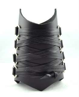 Corset Wristband Black Metal Armband Extreme Heavy Deat
