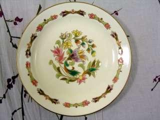 Zsolnay Pecs Hungary Plate Floral/Flowers Art Nouveau/Deco