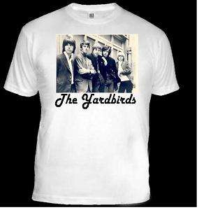 SHIRT. 1960s Rock LegendS THE YARDBIRDS (Unisex).
