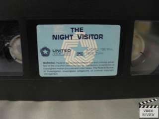 Night Visitor, The VHS Max von Sydow, Liv Ullman