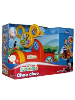 MICKEY MOUSE CLUBHOUSE CHOO CHOO TRAIN RIDE ON NEW