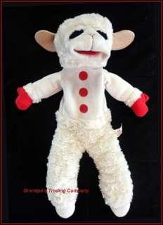 Lamb Chop 18 Hand Puppe Plush Aurora Sof Furry Free Shipping |