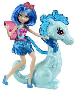 Barbie Princess Charm School Princess Assistant Blue Fairy And Dragon