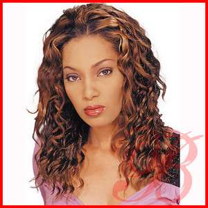 Outre Quick Weave Loose Curly Half Wig AYANA