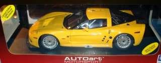 18 CHEVROLET CORVETTE C6R PLAIN BODY VERSION (Yellow) LE#80551