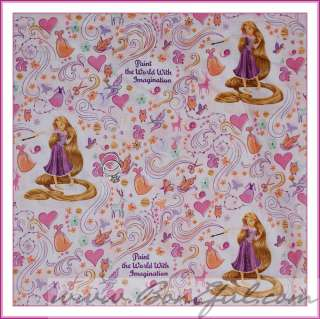 BOOAK Fabric NEW Rapunzel Tangled Princess DISNEY Vacation Dress GIRL