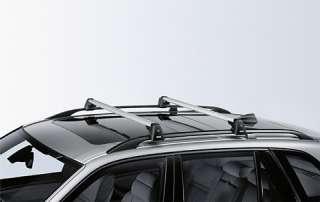 BMW Genuine Aluminium Lockable Roof Bars Rack E70 X5 82710404320