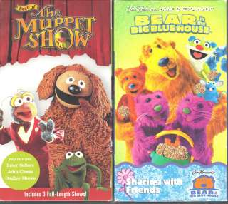 Best of The Muppet Show Sellers, Moore & Cleese Time Life (VHS
