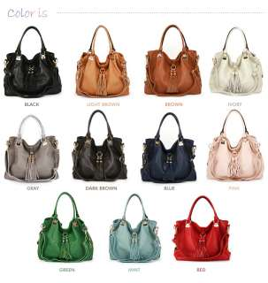 New GENUINE LEATHER purses handbags HOBO TOTES SHOULDER Bag [WB1060