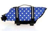 NEW Dog Pet Boat Saver Life Jacket Vest Reflective Strip Blue / Pink