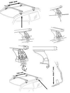 Dachträger AURILIS ORIGINAL VOLKSWAGEN VW Golf V (Steilheck 3/5