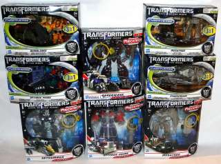 Transformers 3 Mechtech Optimus Prime Megatron Bumblebee Starscream