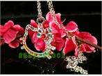 Beautiful HOT cute hello kitty crystal necklace L33