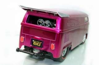HOT WHEELS VOLKSWAGEN DRAG BUS CUSTOMIZED 1/18 NEW