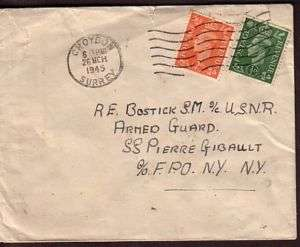 WWII cover Croydon Liberty ship SS Pierre Gibault mined