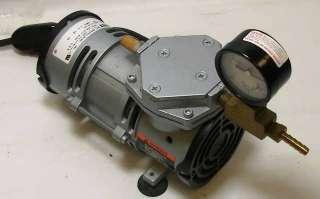 Gast Vacuum Pump .5 CFM MOA V176 115v 60 hz 2.2 Amp