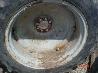 8N NAA FORD TRACTOR TIRES RIMS CENTERS 12.4 X 28 FORD 600 800