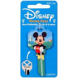 Hillman #66 Disney Mickey Mouse House Key 94411