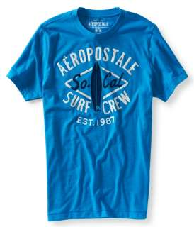 aeropostale mens aero 87 surf graphic t shirt
