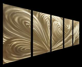 Abstract Metal Wall Art Sculpture Decor 3d Painting Decal Murals